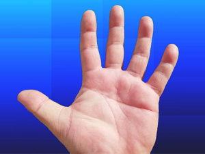 左手のますかけ線